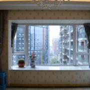 飘窗窗帘设计窗户图