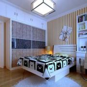儿童房卧室装修吊灯图