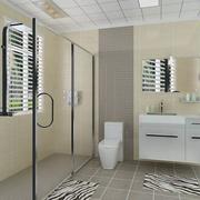 公共厕所装修玻璃隔断