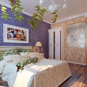 婚房布置装修背景墙图案