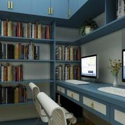 书房装修家居装饰书柜图