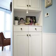 客厅鞋柜装修背景墙图
