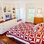 卧室飘窗设计书柜图