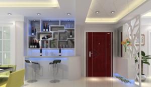 客厅酒柜设计效果图