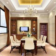 中式风格酒柜装修飘窗图