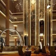 商务酒店大厅吊顶装修整体图