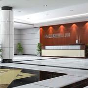 大厅形象墙设计装修色调搭配