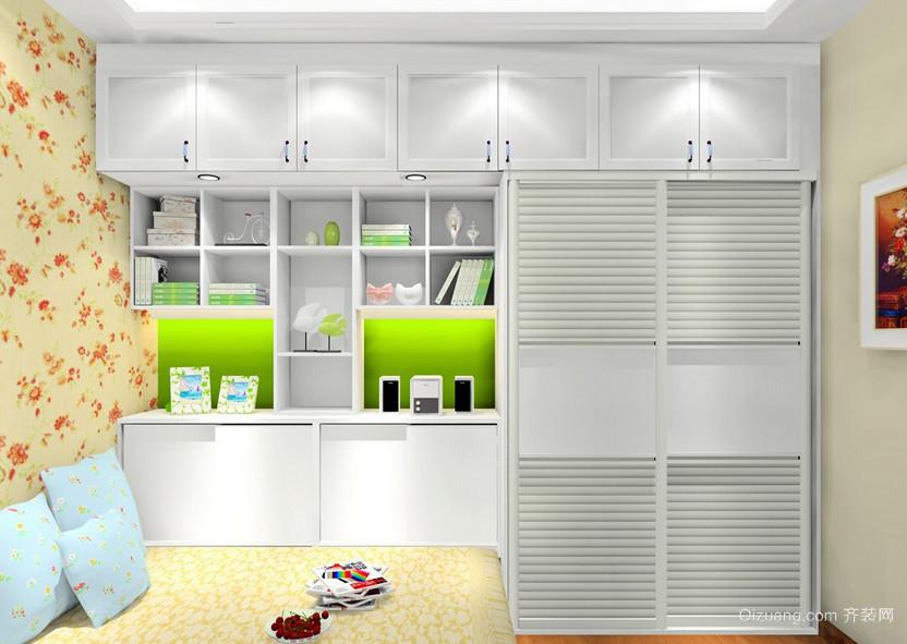 大中户型清新雅致的韩式风格书房设计装修效果图鉴赏