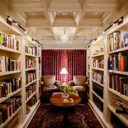 现代书房吊顶装修效果图