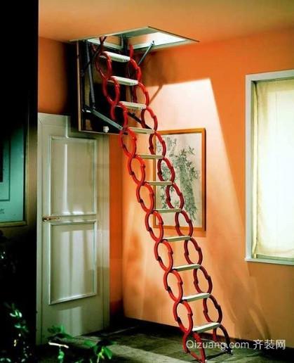 北欧阁楼楼梯装修效果图大全