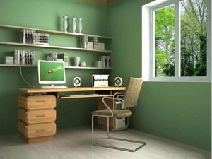 2015精致小书房装修设计效果图