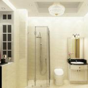 浴室屏风隔断装修灯光设计