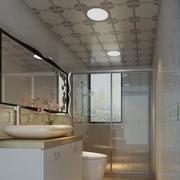 小卫生间吊顶装修飘窗图