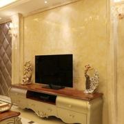 客厅电视背景墙设计灯光设计