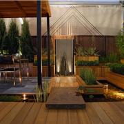 露台花园设计实景图