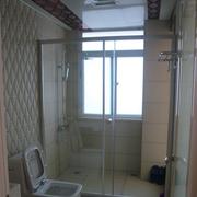 卫生间隔断装修背景墙图
