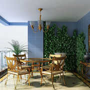 阳台花园设计效果图