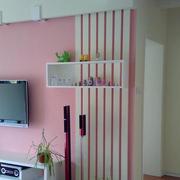 电视背景墙装修隔断图