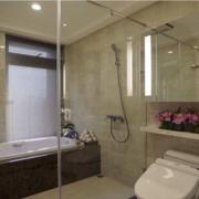 浴室屏风隔断装修效果图