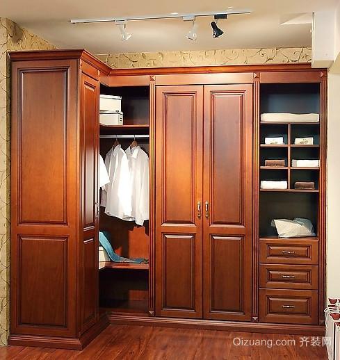 古典中式风格整体衣柜设计图