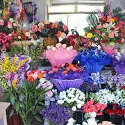 唯美鲜花店装修效果图