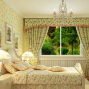 窗帘装修背景墙图