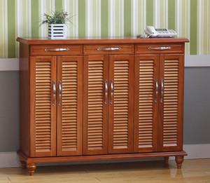 古典精致的实木鞋柜设计装修效果图鉴赏