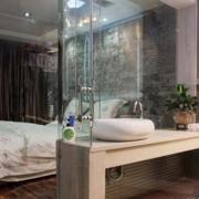 洗手间玻璃隔断整体图