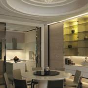 现代餐厅吊顶设计装修效果图