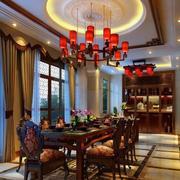 餐厅酒柜设计装修灯光设计