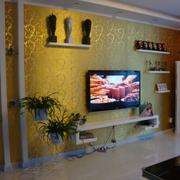 客厅装修背景墙图