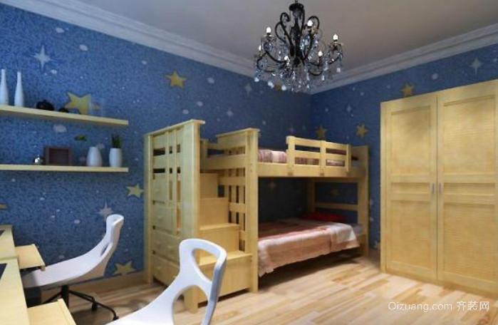 现代简约风格男儿童房装修效果图