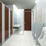 公共厕所装修整体图