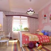 儿童房卧室装修色调搭配