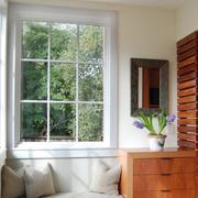 飘窗装修玻璃窗户图