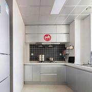 厨房吊顶装修橱柜图