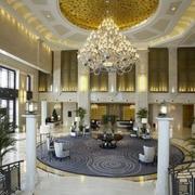 商务酒店大厅吊顶装修灯光设计