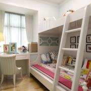 儿童房卧室装修窗帘图
