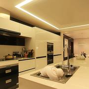 厨房吧台装修色调搭配