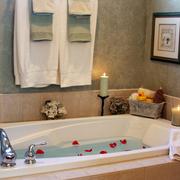 浴室装修浴缸效果图