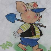 幼儿园壁画精致图案