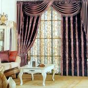 单身公寓窗帘装修模板