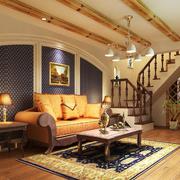 欧式客厅装修灯光设计