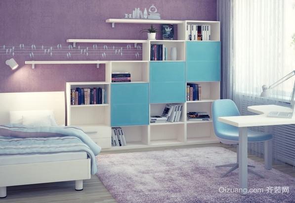 2015大户型地中海风格儿童卧室装修效果图