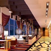 饭店吊顶装修整体图