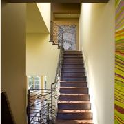 铁艺旋转楼梯装修整体图