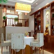 餐厅酒柜设计装修整体图