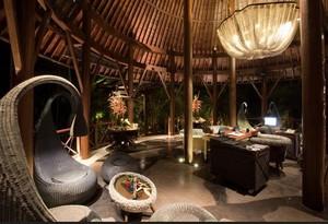 具有泰国特色的度假村餐厅装修设计效果图