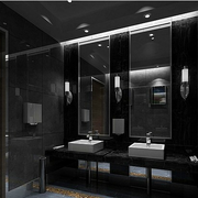 公共厕所装修精致图