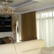 单身公寓窗帘装修整体图